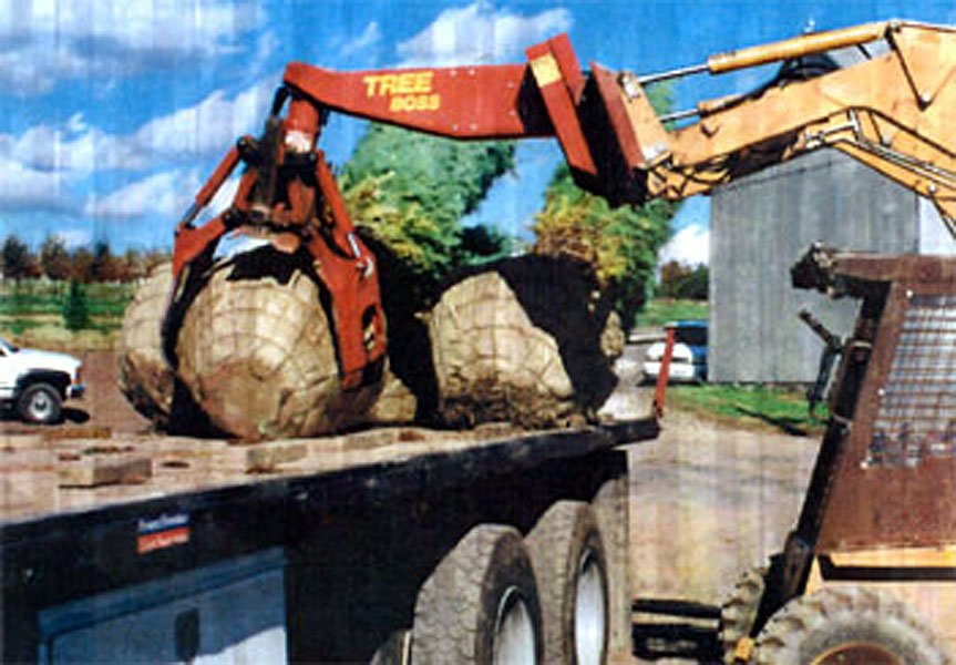 Used Tree Spades and Landscape Equipment - August / July